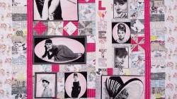 Janine's Audrey Hepburn Quilt