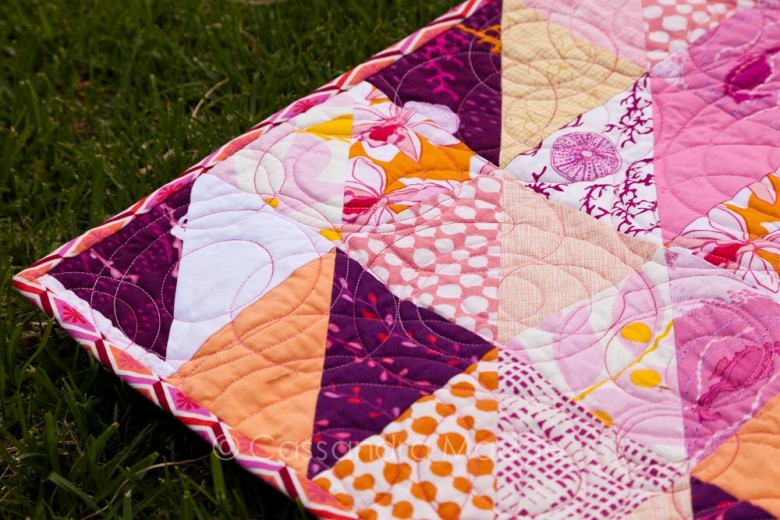 Candy Ripples Quilt